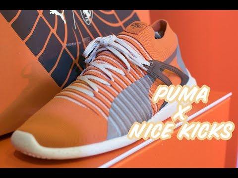 PUMA X NICE KICKS SHOE RELEASE!!!