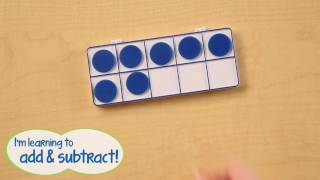 Learning Resources Connecting Ten Frame Trays