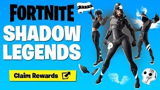 'NEW' SHADOW LEGENDS PACK À Fortnite!