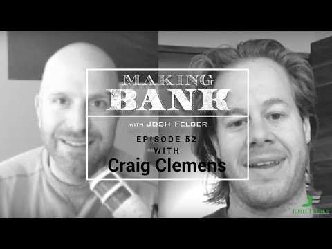 The Art of Copywriting with Guest Craig Clemens: MakingBank S1E52