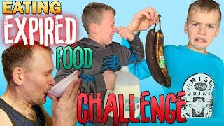 Eating Only Expired Food for 24 Hours Challenge