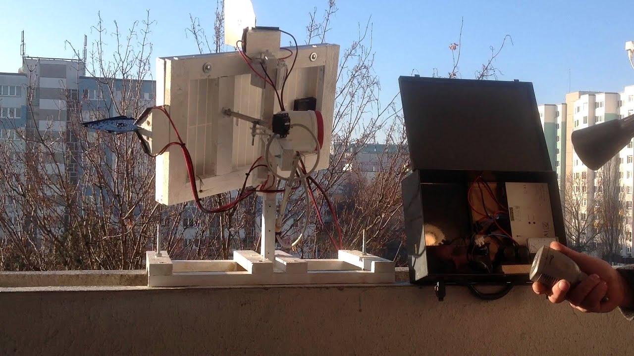 solarzellen nachf hrung analog f r den balkon eigenbau doovi. Black Bedroom Furniture Sets. Home Design Ideas