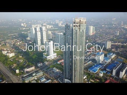 Johor Bahru City - Development Progress as 06 Feb 2018
