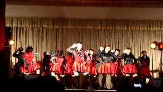 精華女子高校 ダンス部 文化祭 nmb48 akb48 smile
