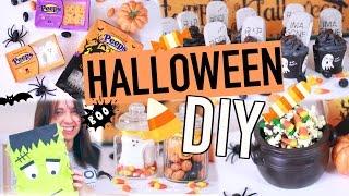 Halloween'owe DIY Last Minute Inspirowane Pinterest