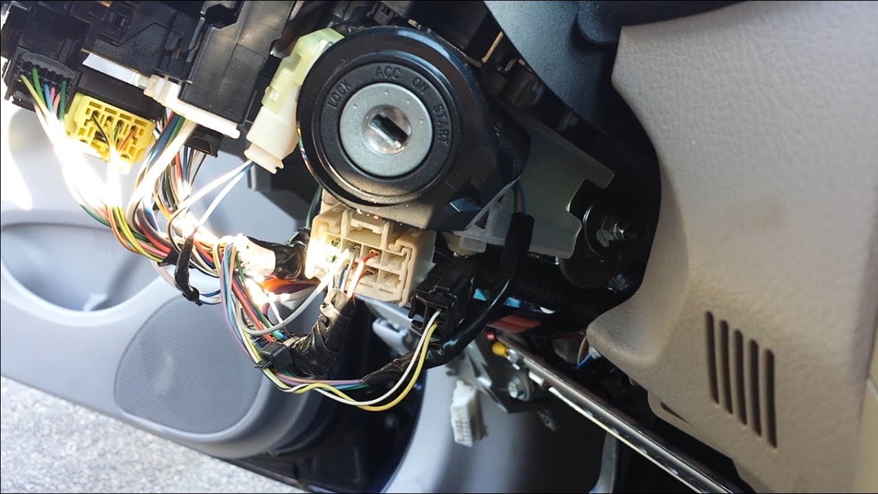 2001 Toyota Tundra Radio Wiring Diagram 2009 2013 Toyota Corolla Remote Start Install Youtube