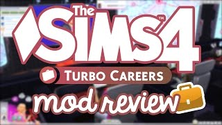 Los Sims 4 Turbo Careers - Mod Review