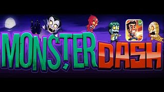 ОБЗОР ИГРЫ MONSTER DASH (Halfbrick Studios android gameplay)