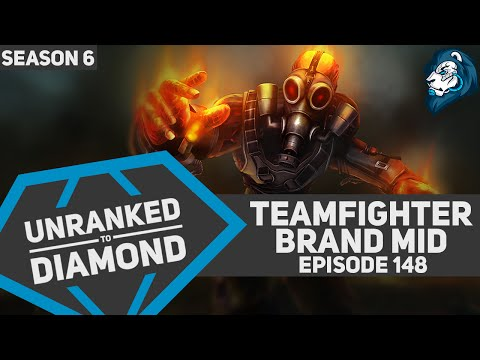 Teamfighter BRAND Mid - Unranked to Diamond - Episode 148 (Arcade Riven Skin Giveaway)