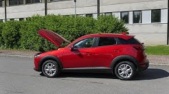 Miten 120-hevosvoimainen SKYACTIV-bensamoottori sopii Mazda CX-3:een?