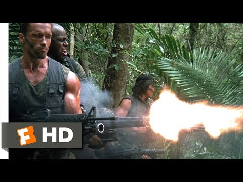 Predator (1/5) Movie CLIP - Old Painless Is Waiting (1987) HD