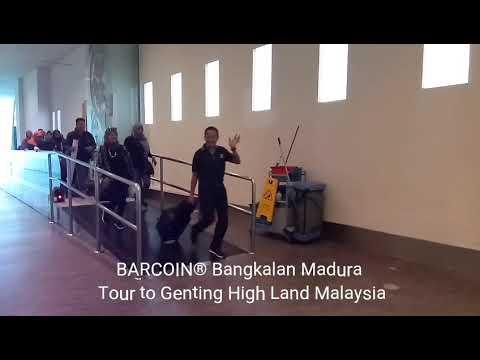 Barcoiner Bangkalan tour to Genting High Land Kuala Lumpur  Malaysia