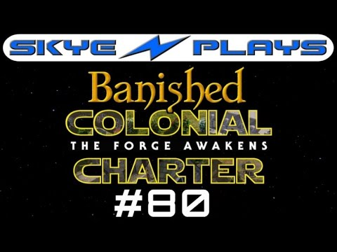 Banished Colonial Charter 1.6 #80 ►Tailor Made!◀ Let's Play/Gameplay