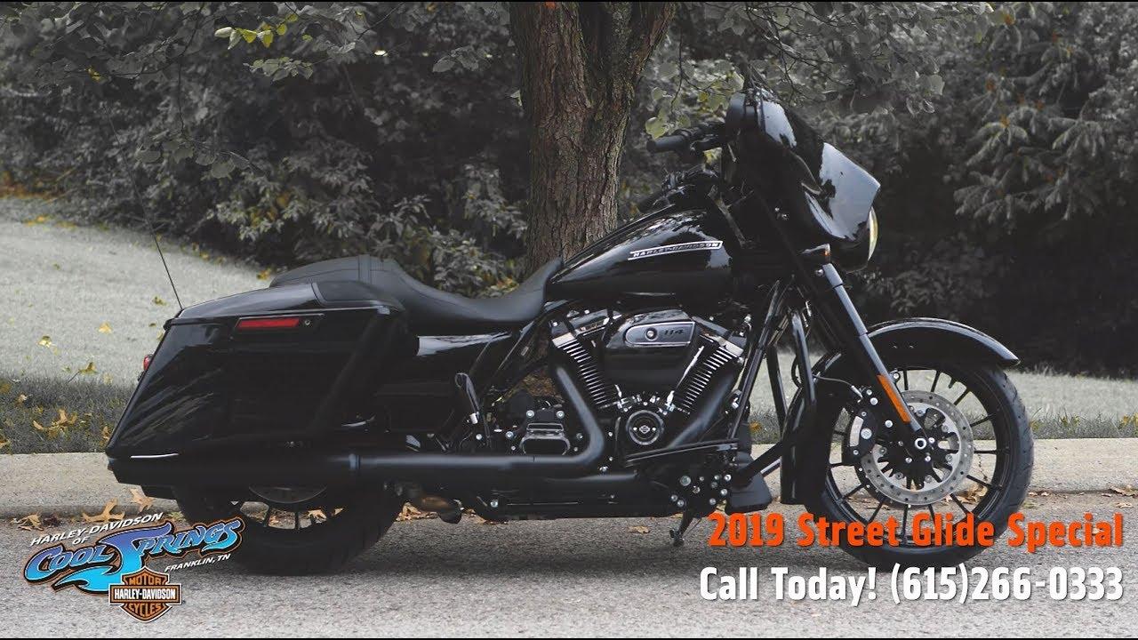 2019 Harley Davidson Street Glide Special Black