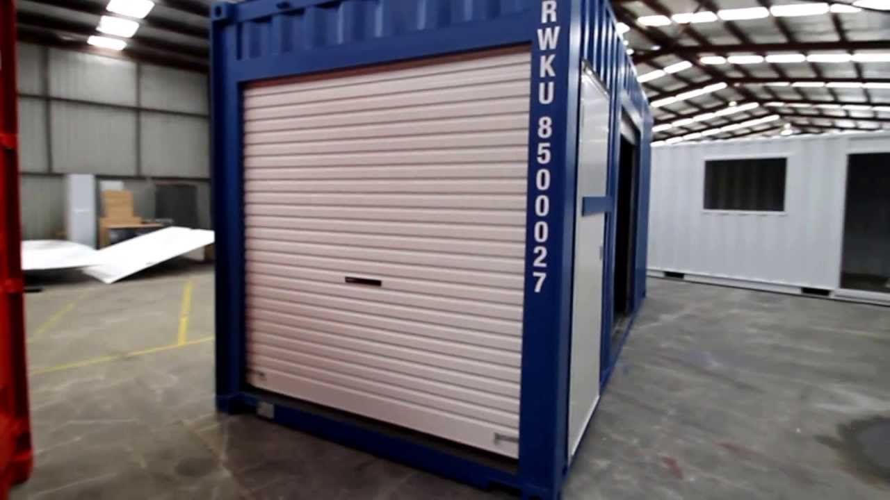 Shipping Container For Portable Event Kiosk Youtube