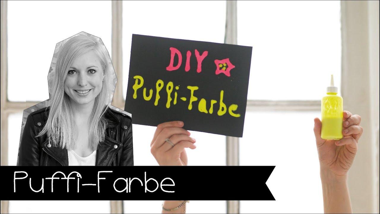 diy 3d puffi farbe einfach selber machen basteln mit kidern youtube. Black Bedroom Furniture Sets. Home Design Ideas