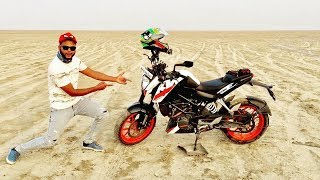 JOURNEY MUMBAI TO PAKISTAN - INDIA BORDER ON KTM BIKE | GUJARAT  RIDE | ** TRAILER **