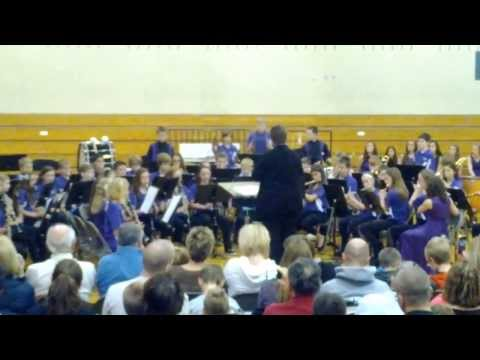 Beadle Middle School 7th Grade Fall Band Concert I