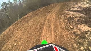 2014 kx100 race at Scrub N Dirt