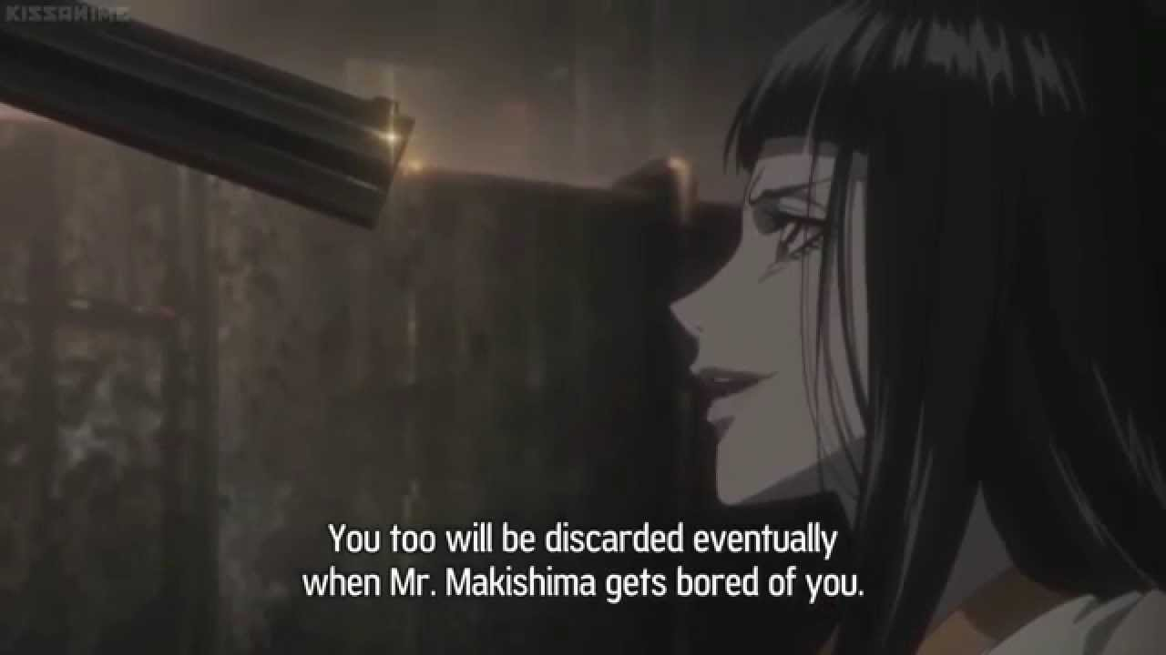 anime deaths - psycho-pass s1e8  rikako oryo