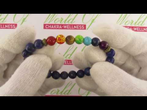 Chakra Stone Lapis Lazuli  bracelet