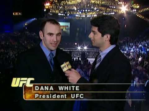 Dana White's first interview as the president of the UFC - YouTube