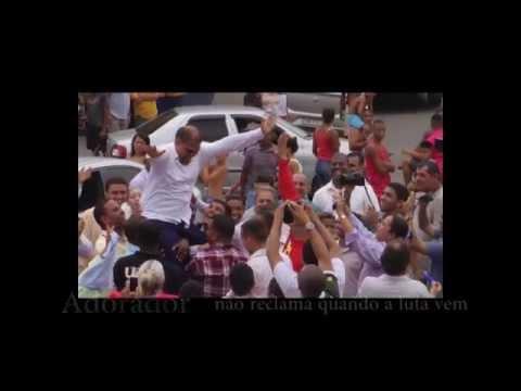 da canção de Mattos Nascimento em homenagem à liberdade do Pastor Marcos Pereira