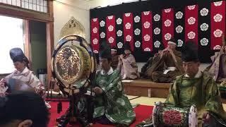 管絃 平調 越殿楽 第4回 津島で雅楽演奏会