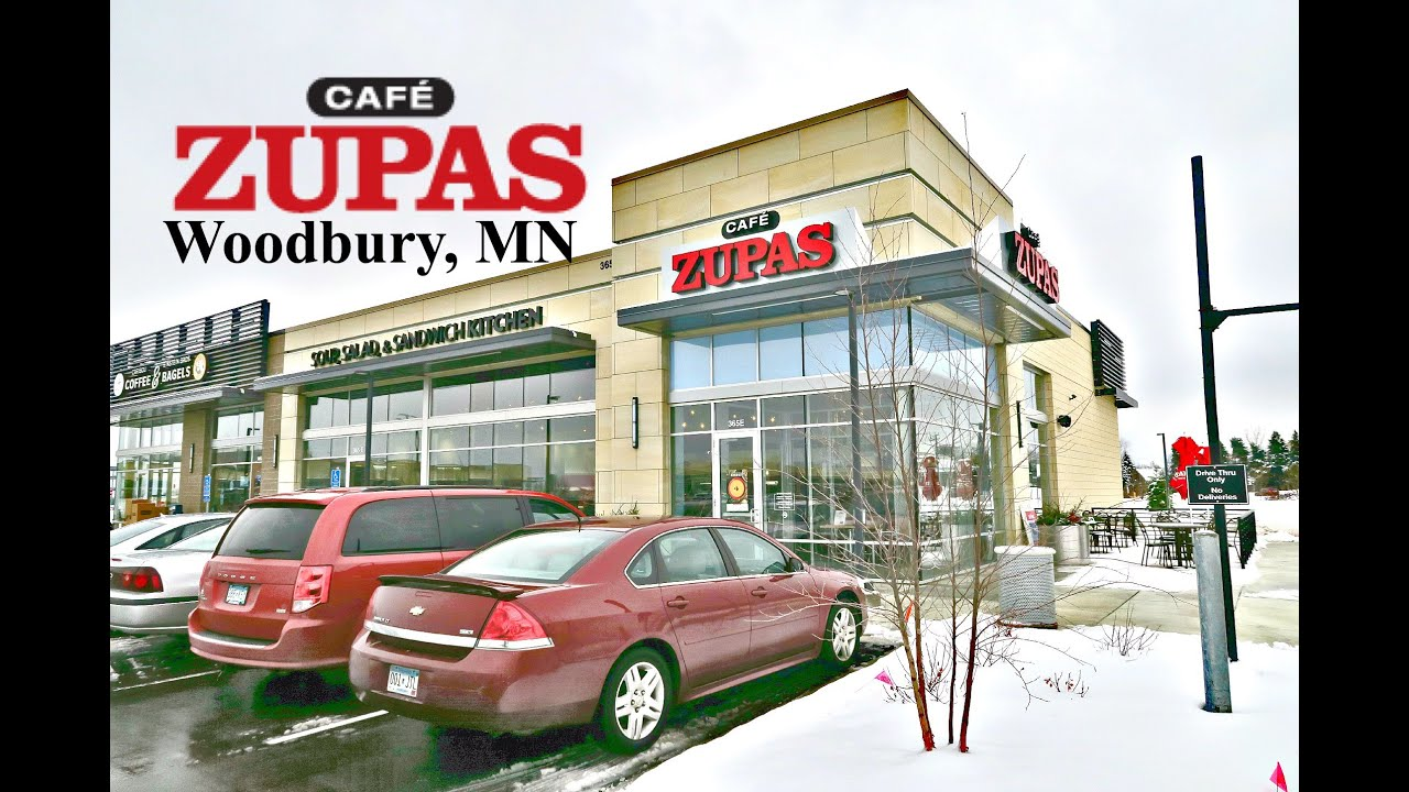 Cafe Zupas Woodbury Mn Youtube