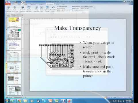 PIC16 Microcontrollers, Unit 17, Ch. 4; PCB Prototyping in Eagle CAD