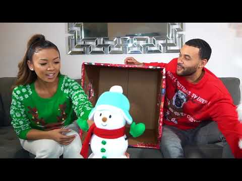 Whats In The Christmas Box Challenge