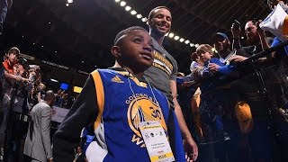 When a 6-Year-Old Meets Stephen Curry