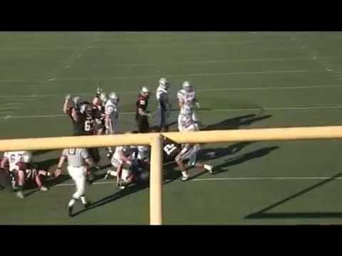 WPI Football vs USMMA 2010