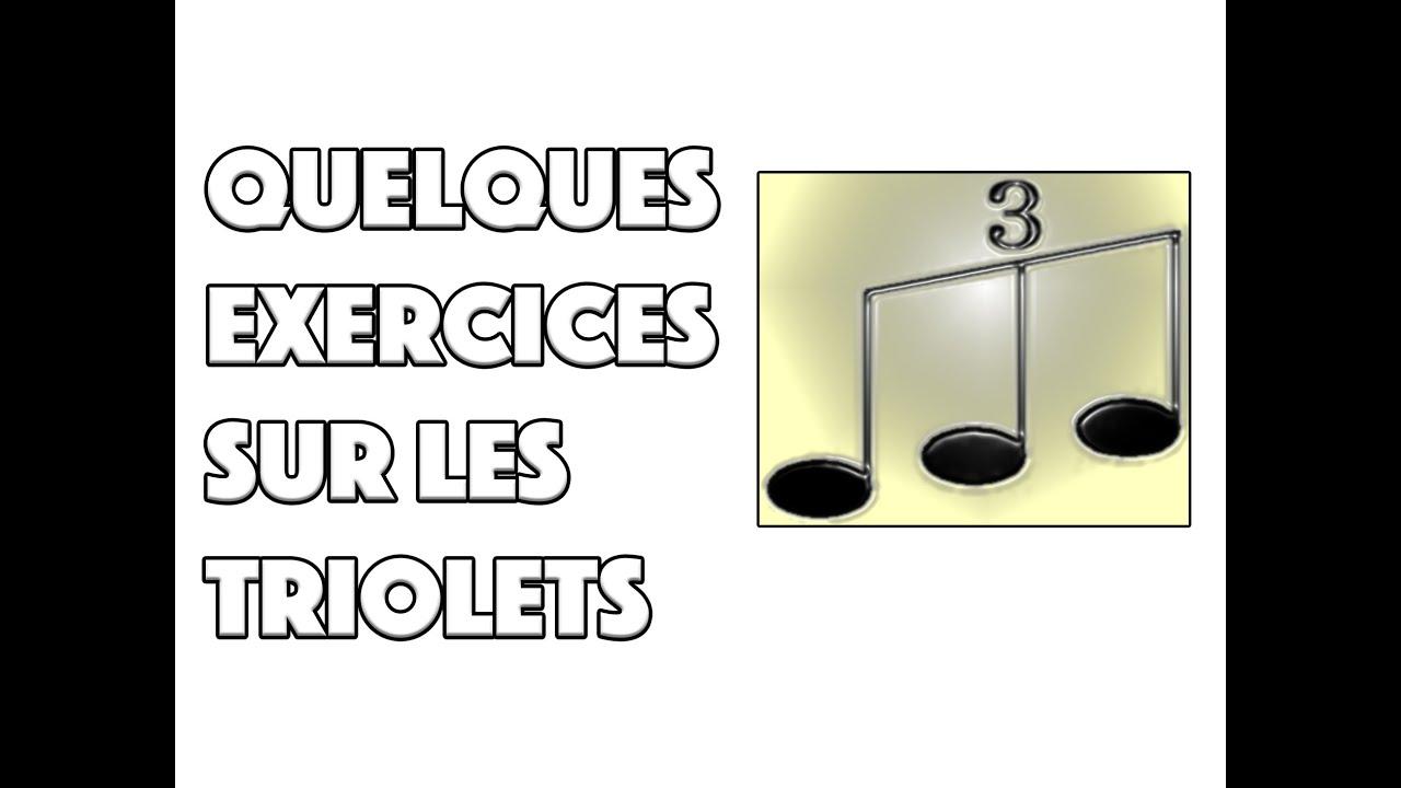 QUELQUES EXERCICES SUR LES TRIOLETS - LE GUITAR VLOG 094