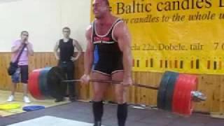 Konstantinovs Deadlift 426kg(939lb) RAW,no belt