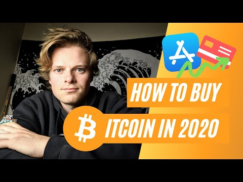 How To Buy Bitcoin In 2020!