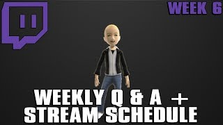 24 hour stream operation supply drop talk q a schedule week 6