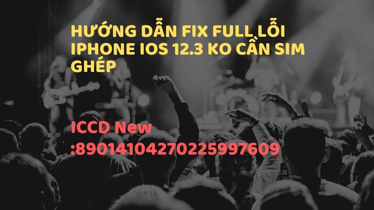 Hướng dẫn Unlock biến iPhone Lock thành Quốc tế, không cần SIM ghép.