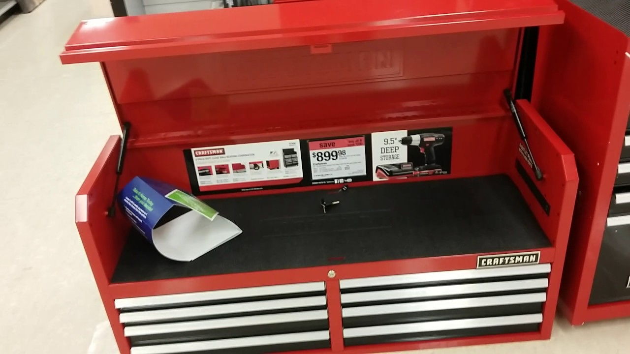Sears New Craftman Tool Boxes