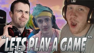 DrLupo Donates 30,000 Bits To Ninja And TimTheTatMan To Turn Against Each Other!
