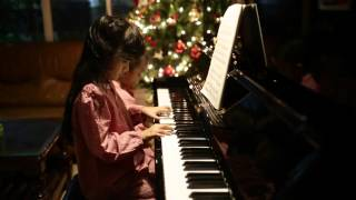 Khang An - Gia An - Silent Night Holy Night piano