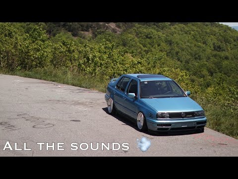 Miley rips through the mountains! ( Vr6 sounds! )
