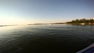 Guy Tips Over Boat [GoPro HD]