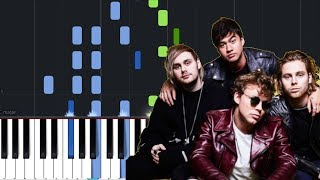 "5 Seconds Of Summer - ""Talk Fast"" Piano Tutorial - Chords - How To Play - Cover"
