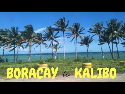 Boracay to Kalibo and staying in the RB Lodge | PHILIPPINES travel