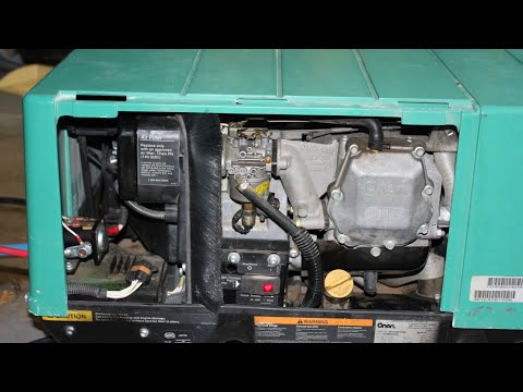 Onan 4000 Generator Fix, Runs Fine Then Stops