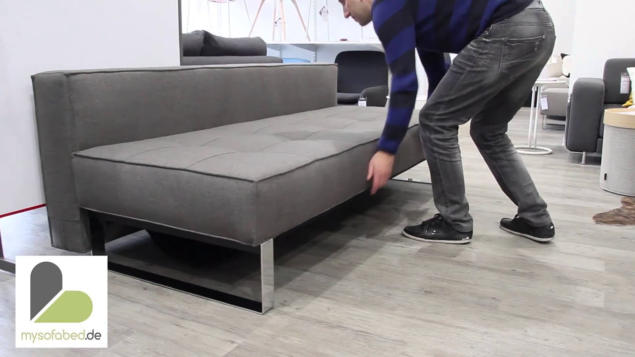 Supreme deluxe excess lounger schlafsofa von innovation for Doppelschlafcouch mit bettkasten