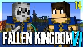FALLEN KINGDOMS AVEC MODS VI : L'ASSAUT ! | JOUR  14 - Minecraft FK thumbnail