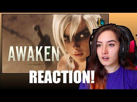 Awaken (ft. Valerie Broussard)   League Of Legends Cinematic Reaction
