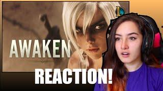 Awaken (ft. Valerie Broussard) | League of Legends Cinematic Reaction